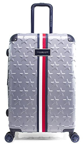 "Tommy Hilfiger Starlight 24"" Expandable Hardside Spinner, Charcoal"