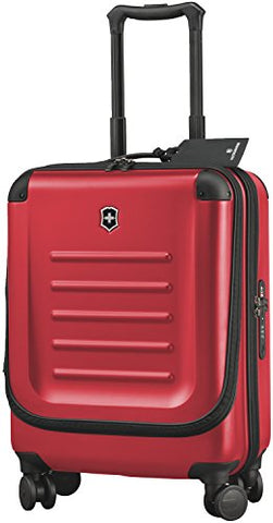 Victorinox Luggage Spectra 2.0 Dual-Access Global Carry-On, Red, One Size