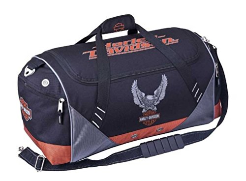 Harley-Davidson Sport & Travel 20 inch Duffel Bag, Black 99614