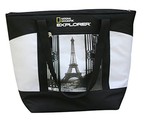 National Geographic Mega Tote, Paris, One Size