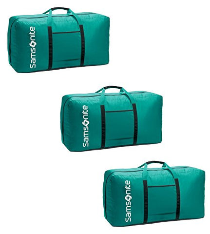 "Samsonite 32.5"" Tote-A-Ton 3 Piece Duffel Set (One Size, Turquoise)"
