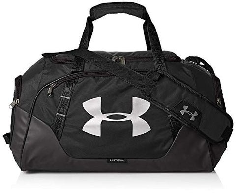 Under Armour Undeniable 3.0 Duffle, Black (001)/Silver,