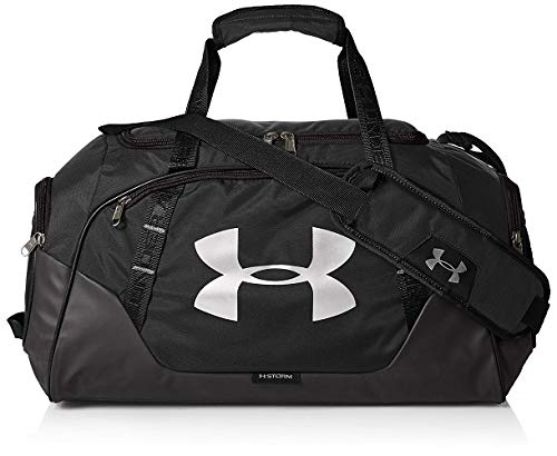 Under Armour Undeniable Duffle 3.0 Gym Bag, Black (001)/Silver,