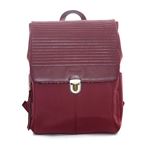 "Jill-E Designs Lucy 13"" Laptop Backpack, 11 X 5 X 14.25 Inches, Berry (473332)"