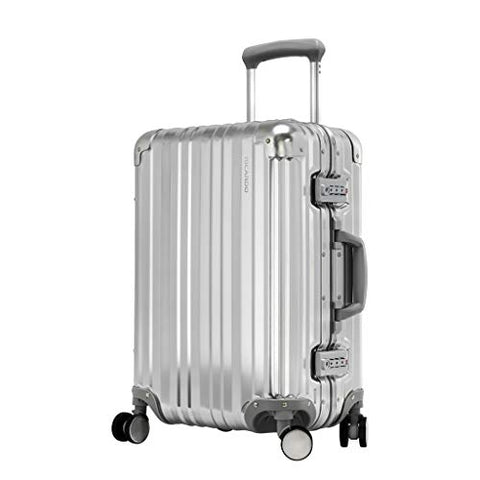 Ricardo Beverly Hills Aileron 20 Inch Carry On Spinner Silver