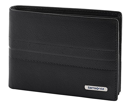 Spectrolite SLG - Billfold for 9 Creditcards, 2 Compartments Credit Card Case, 13 cm, 0 liters, Black (Black/Night Blue)