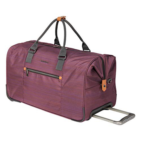 "Ricardo Montecito 22"" Wheeled Carry-On Duffel Purple"