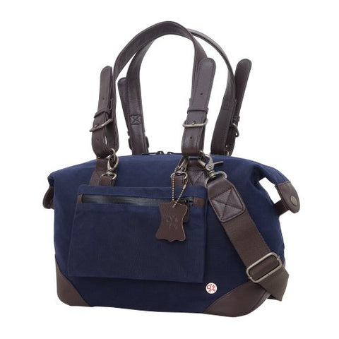 Token Bags Lafayette Waxed Duffel Bag, Navy, One Size