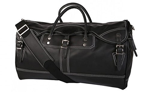 Duluth Pack Elite Series Sportsman's Duffel (One Size, Black/White)