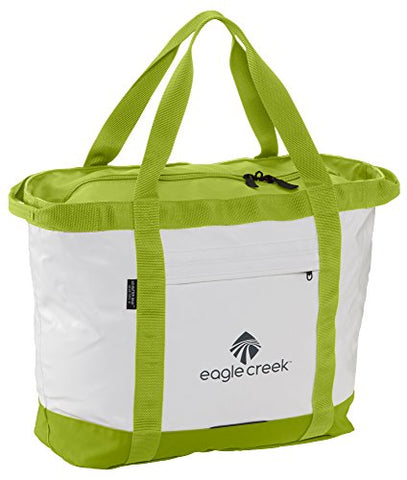 Eagle Creek No Matter What Gear Tote-S, White/Strobe Green