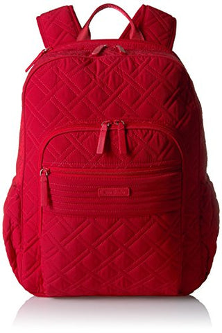 Vera Bradley Women'S Campus Tech Backpack Vera, Cardinal Red