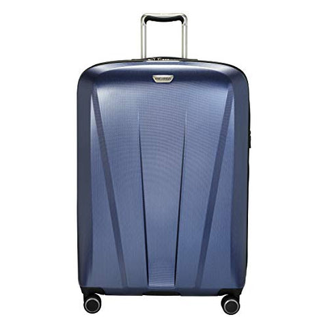 Ricardo Beverly Hills San Clemente 2.0 29-Inch Checked Suitcase (Slate Blue)