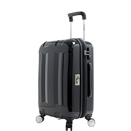 Chariot Cinco 20'' Hardside Spinner Carry On (Black)