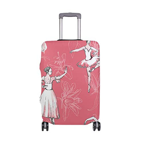GIOVANIOR Ballerinas Ballet Girl Luggage Cover Suitcase Protector Carry On Covers