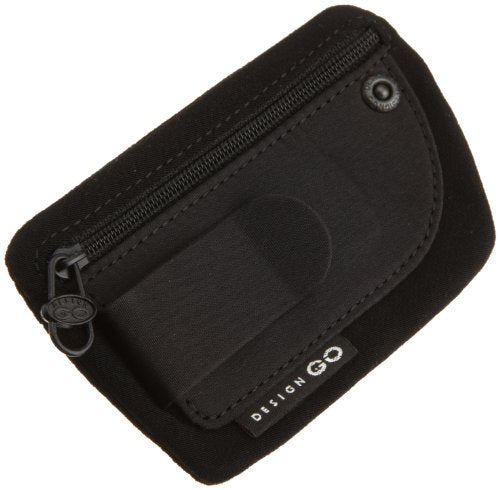 Design Go Luggage Clip Pouch, Black, One Size