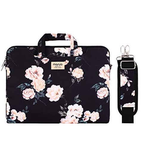 MOSISO Laptop Shoulder Bag Compatible 14-15.6 Inch 2018 2017 2016 MacBook Pro Touch Bar A1990