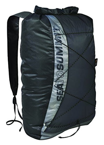 Sea To Summit Ultra-Sil Dry Day Pack (Black, 22-Liter)