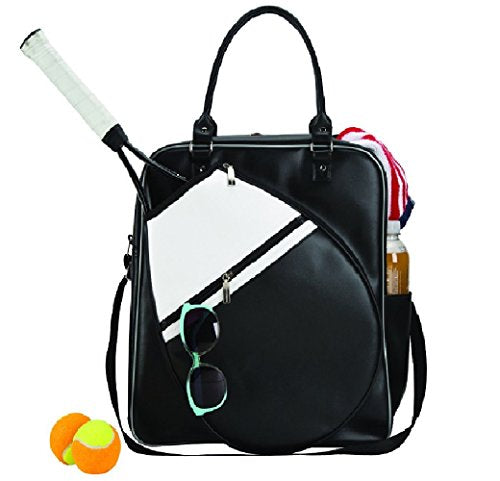 GOODHOPE Bags Sports Metro Court Chic Tennis Racket Travel Duffel Bag