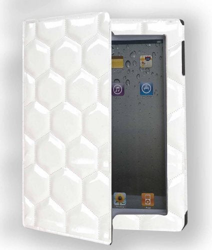 Zumer Sport Ipad Cover, Soccer White, One Size