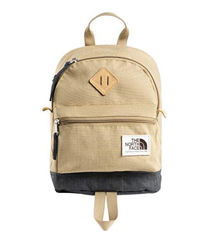 The North Face Mini Mini Berkeley, Kelp Tan Dark Heather/Asphalt Grey Light Heather, OS