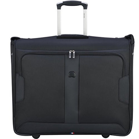Delsey Luggage Sky Max 2 Wheeled Garment Bag, Black