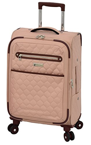 "London Fog Calypso 20"" Expandable Spinner, Apricot"