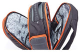 Harley-Davidson Quilted Multi-Zippered Pocket Backpack 99319 GRAY/RUST