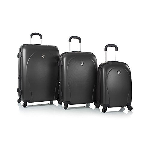 Heys Xcase Spinner 3 Piece Set, Black