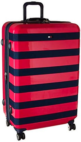 "Tommy Hilfiger Rugby 28"" Expandable Hardside Spinner, Pink"