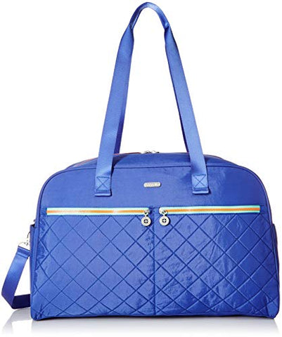 Baggallini womens Varsity Duffel, Royal Blue/Mint, One Size