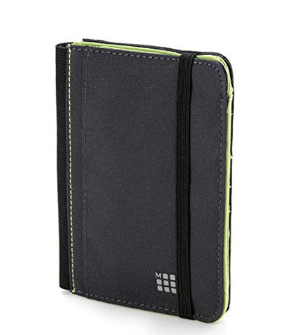 Moleskine Passport Wallet (Women) - Payne's Grey