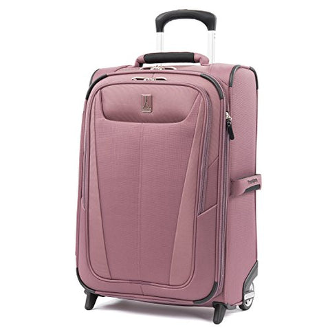 "Travelpro Luggage Maxlite 5 22"" Lightweight Expandable Carry-On Rollaboard Suitcase, Dusty Rose"