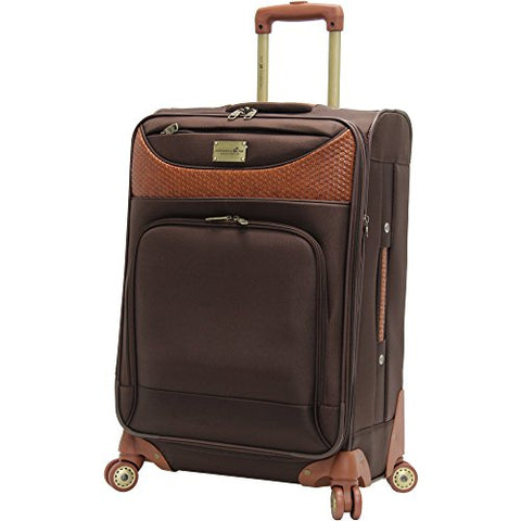 Caribbean Joe 28 Inch 8 Wheel Spinner, Chocolate Brown, One Size