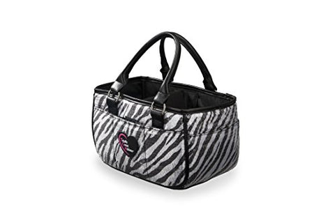Zebra Sequin Ice Skating Bag Tennis Gym And Ballet Girls Athletic Bag