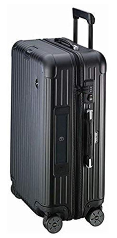 RIMOWA Lufthansa Airlight Collection suitcase Trolley 62.5L Matt Black Electronic Tag