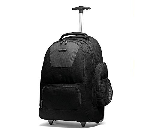 Samsonite Wheeled Computer Backpack Black/Charcoal