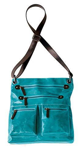 Shiraleah Harper Cross-Body Daypack, Aqua