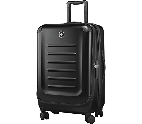 Victorinox Spectra 2.0 Expandable Medium Hardside Spinner Suitcase, 27-Inch, Black