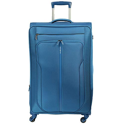 Samsonite Patrono Spinner Carry-On Luggage Large Blue Travel Bag