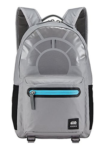 Nixon Unisex The C-3 Backpack X Star Wars Collab Millennium Falcon Gunmetal Backpack