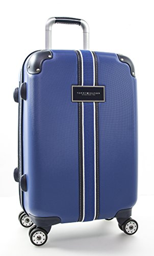 "Tommy Hilfiger Classic 22"" Expandable Hardside Spinner, Royal Blue"
