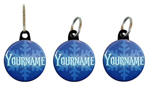 Buttonsmith® Custom Winter Ice Tags of Return