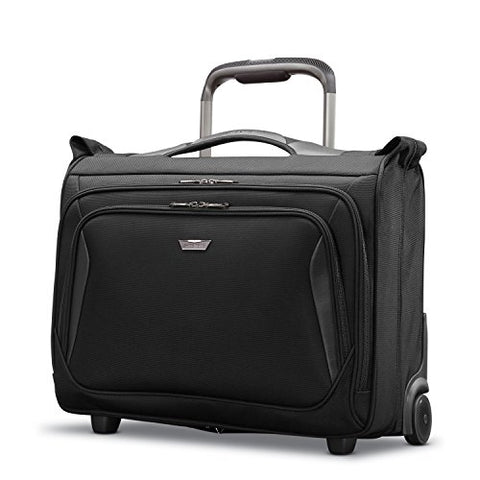Samsonite Armage Wheeled Carry On Garment Bag Black