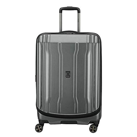"DELSEY Paris Luggage Cruise Lite Hardside 2.0 25"" Checked Lightweight Suitcase, Platinum"