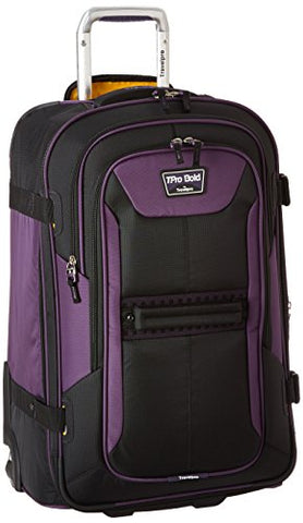 Travelpro Tpro Bold 2.0 25 Inch Expandable Rollaboard, Black/Purple, One Size