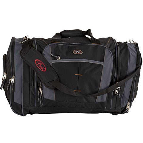 Calpak Silver Lake Solid 27-Inch Lightweight Unisex Duffel Bag, Black, One Size