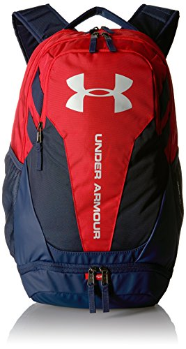 Under Armour Hustle 3.0 Backpack, Red (602)/Elemental, One Size