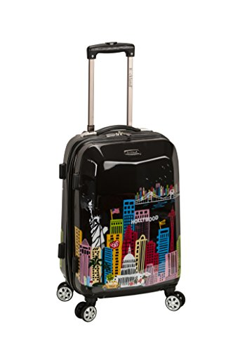 "Rockland 20"" Polycarbonate Carry on, America"