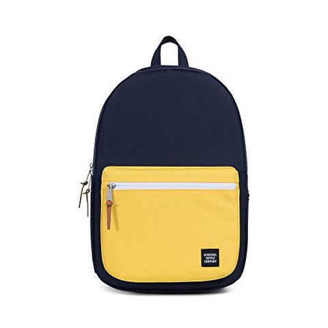 Herschel Harrison Backpack, Peacoat/Cyber Yellow