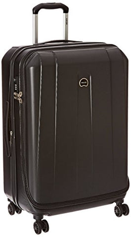 "DELSEY Paris Helium Shadow 3.0 25"" Exp. Spinner Trolley, Black"